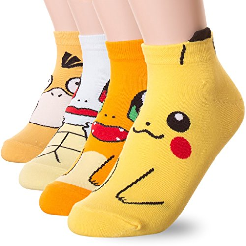 Dani's Choice -  Calze  - Donna Pokemon 4 Pairs unica