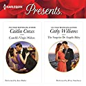 Castelli's Virgin Widow & The Surprise De Angelis Baby Audiobook by Caitlin Crews, Cathy Willliams Narrated by Ione Bulter, Perry Smithson