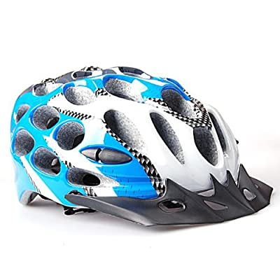 Brand New Comfortable Adult Men Blue & Black Sport Bicycle Helmet For Racing Climbing Touring by PSgiveU