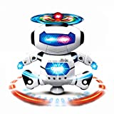 Usstore 1PC Kid Baby Electronic Walking Dancing Smart Space Robot Astronaut Kids Music Light Kids Toy Gift