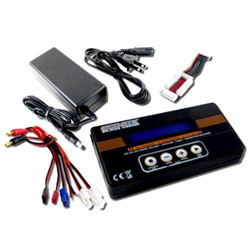 Airsoft Battery Pack Balance Charger TB6-1 with Power Supply