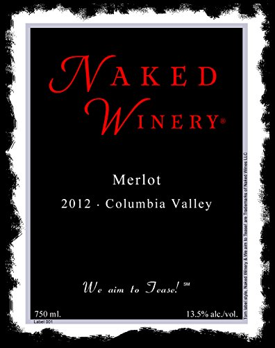 2012 Naked Winery Merlot 750 Ml