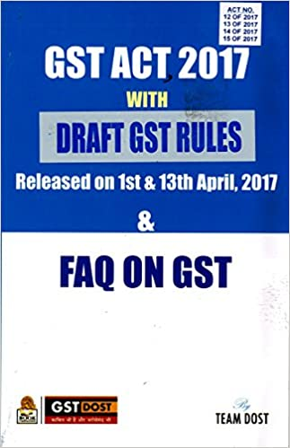 Draft GST Payment of Tax Rules