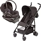 Maxi Cosi Kaia and Mico NXT Travel System, Total Black
