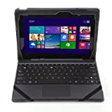Poetic SlimBook Case for ASUS Transformer Book T100 10.1-Inch Window 8.1 Tablet Black (Compatible With Or Without Keyboard)(3 Year Manufacturer Warranty From Poetic) (Keyboard is Not Included)