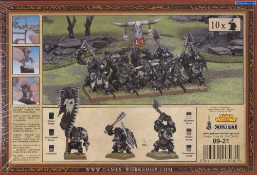 Orcs & Goblins Black Orcs Warhammer Fantasy