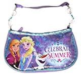 Disney Little Girls Frozen Beaded Handbag Celebrate Summer Multicoloured