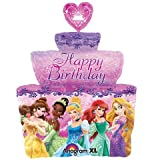 Disney Princess Birthday Cake Supershape Foil Balloon