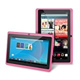 "Chromo Inc.® 7"" -Tablet PC Android 4.1.3 Capacitive 5 Point Multi-Touch Screen - Pink [New Model September 2013]"