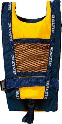 "BALTIC Schwimmweste "" Canoe"", 40-130kg, 50N, Gelb/Navy"