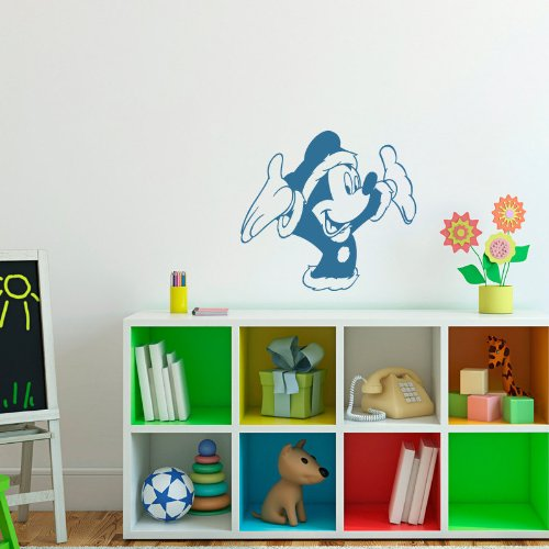 Children Room Baby Child Picture Cartoon Hero Mouse Little Animal Wall Bedroom Wall Vinyl Decal Sticker Art Design 332 front-962966
