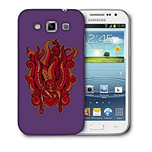 Snoogg Face With Octapus Designer Protective Back Case Cover For Samsung Galaxy Win i8552