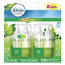Febreze Noticeables Gain Original Air Freshener Refill (2 Count; .879 Fl Oz Each) 1.74 Ounce