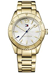 Tommy Hilfiger Women's TH1781268J Casual Sport Analog Display Quartz Gold Watch