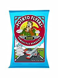 Potato Flyers, Homestyle Barbeque, 5.5-Ounce Bags (Pack of 12)