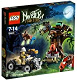 Lego Monster Fighters - 9463 - Jeu de Construction - Le Loup-Garou