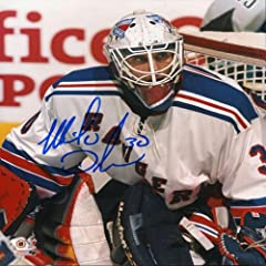Buy Mike Dunham Autographed Signed New York Rangers 8x10 Photo by Hollywood Collectibles