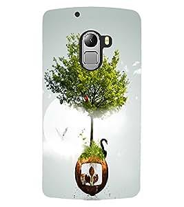ColourCraft Creative Art Design Back Case Cover for LENOVO VIBE X3 LITE