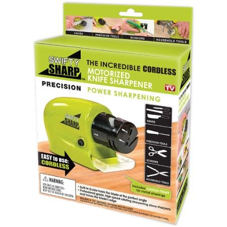 As Seen on TV Swifty Sharp Motorized Knife Sharpener (Motorized Knife compare prices)