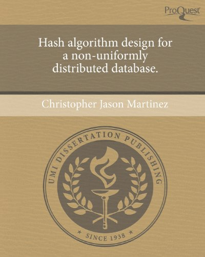 Hash Algorithm Design for a Non-Uniformly Distributed Database.