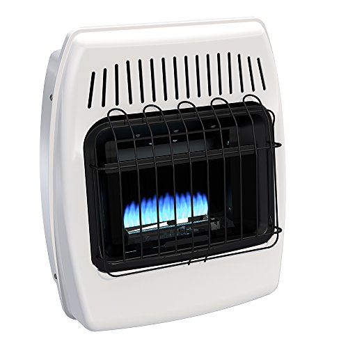 Dyna-Glo BF10PMDG 10,000 BTU Liquid Propane Blue Flame Vent Free Wall Heater (Ready Heat Propane Heater compare prices)