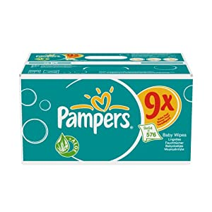 Pampers Lingettes Baby Fresh 9 x 64 - 576 lingettes