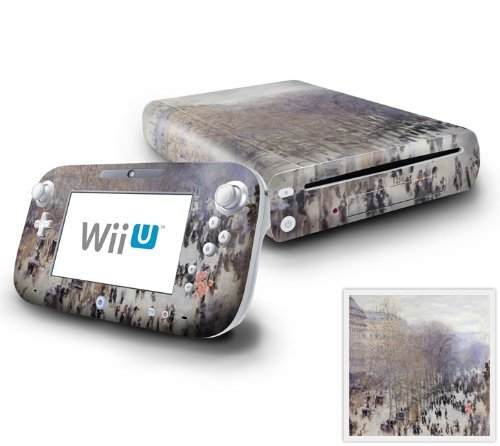 nintendo-wii-u-console-and-gamepad-decal-skin-sticker-boulevard-des-capucines-by-decalskin