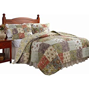 Greenland Home Blooming Prairie Quilt Set from Amazon!