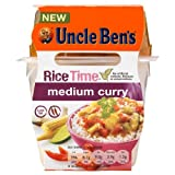 Uncle Ben's Rice Time Medium Curry 3x300g