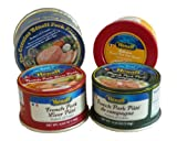 4 Gourmet Pates & Rillettes From France Combo