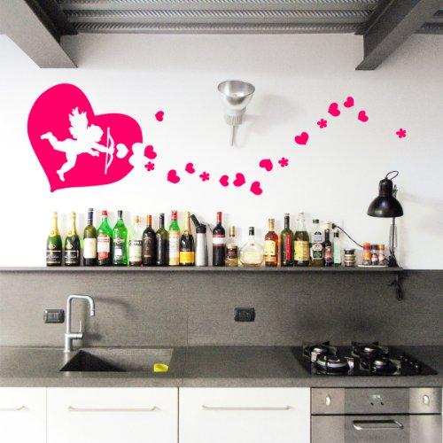 Cupido MONO - Adesivi Murali - Wall Stickers per la decorazione della casa e delle camerette