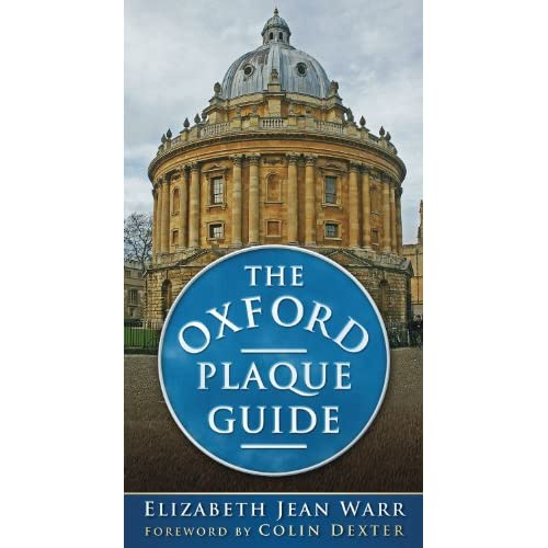 Plaque Guide (9780752456874): Elizabeth Jean Warr, Colin Dexter: Books