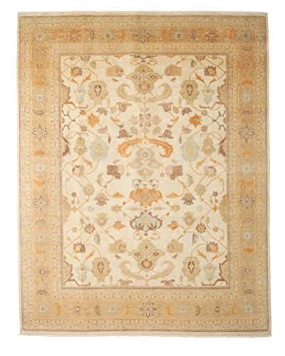 Darya Rugs Fine Oushak Oriental Rug, Beige, 8' 1 x 10' 3