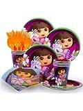 Costume Supercenter BBKIT187 Dora Party Standard Kit Serves 8