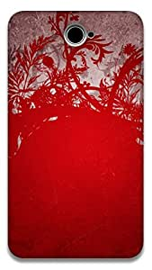The Racoon Grip Wild Red hard plastic printed back case / cover for Sony Xperia E4