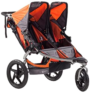 BOB Revolution SE Duallie Stroller, Orange