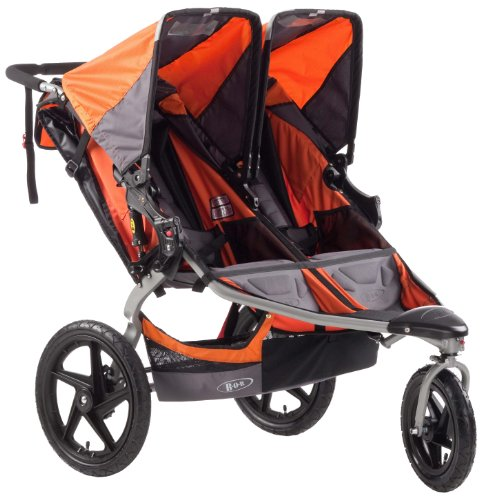 Cheapest Prices! BOB Revolution SE Duallie Stroller, Orange