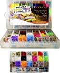 Loom Kit Deluxe 3600 Loom Rainbow Ban...