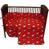 Georgia 5 Pc Baby Crib Logo Bedding Set