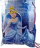 Disney Princess Blue Cinderella Plastic Swimming Bag