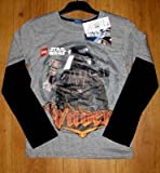 Fantastic Darth Vader Lego Star Wars Boys Long Sleeved Top 3 Years to 8 Years