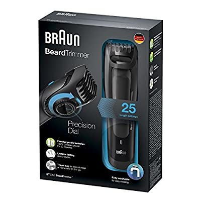 Braun BT5050 Beard Trimmer for Men (Multicolor)