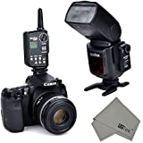 FitTek ' Godox FT-16S 433MHz 16 Channel Wireless Remote Flash Trigger With Receiver For Godox V850 V860 Speedlite...