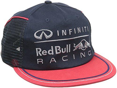 Red Bull Racing, Cappellino Uomo, Rosso (Rot), Taglia unica