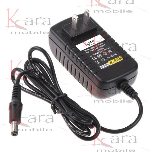 Kara Mobile 9V AC Adapter for Schwinn 202, 206, 213, 223, 226 & 231 Recumbent Exercise Bike Power Supply / AC Adaptor 8' Cord