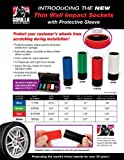 Gorilla Automotive 78TWS Thin Wall Impact Sockets With Protective Sleeve (7/8