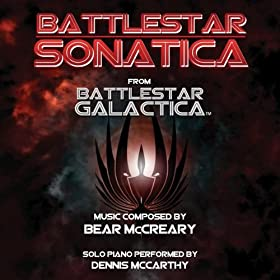 "Battlestar Sonatica for Solo Piano - From ""Battlestar Galactica"""