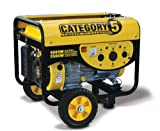 51PI96O OJL. SL160  Champion Power Equipment 46517 3,500 Watt 196cc OHV 4 Cycle Gas Powered RV Ready Portable Generator With Wheel Kit