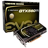 EVGA GeForce GTX 560 Ti FPB Graphics Card (1024 MB, GDDR5, PCI-E 2.0 16x, DVI-I x 2, Mini-HDMI, SLI-Capable)