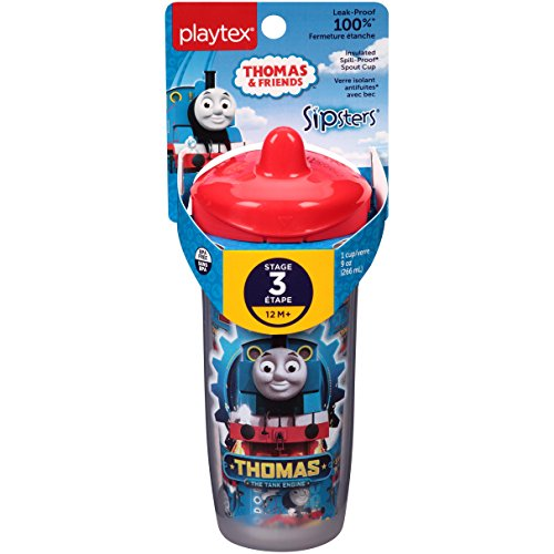Playtex Sipsters Thomas the Train Spout Sippy Cups - 9 Ounce - 1